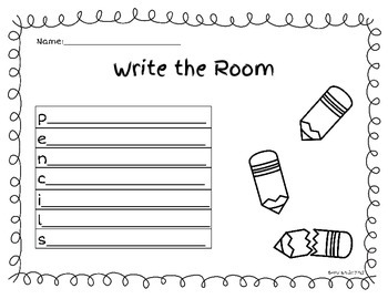 Write the Room: The Complete Print & Go Collection