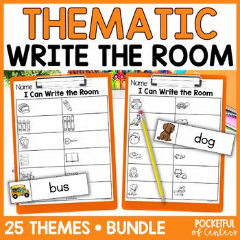 Write the Room Holidays & Themes {BUNDLE}