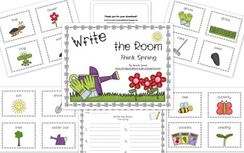 Write the Room: Think Spring