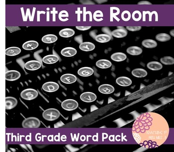 Write the Room: Third Grade Pack