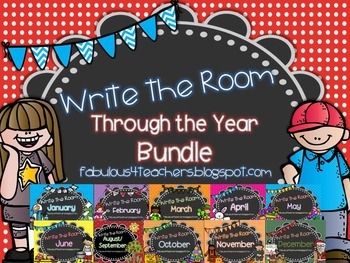 Write the Room~ Through the Year Bundle