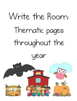 Write the Room Throughout the year