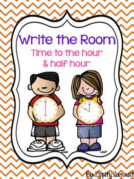 Write the Room - Time to hour & half hour BUNDLE