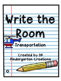 Write the Room Transportation