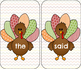 Write the Room: Turkey/ Thanksgiving Theme