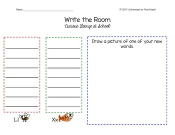 Write the Room Unit 1 Journeys