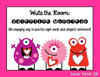 Write the Room: Valentine Monsters