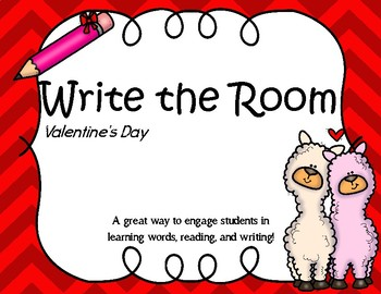 Write the Room - Valentine's Day