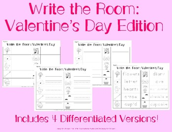 Write the Room: Valentine's Day Edition