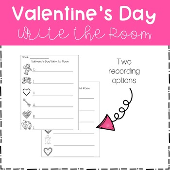Write the Room - Valentine's Day Theme