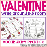 Valentine's Day Vocabulary Write the Room