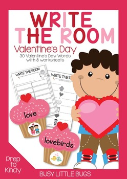 Write the Room - Valentine's Day Theme