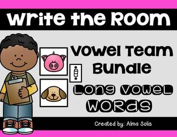 Write the Room Vowel Team Bundle