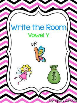 Write the Room - Vowel y