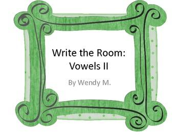 Write the Room Vowels II