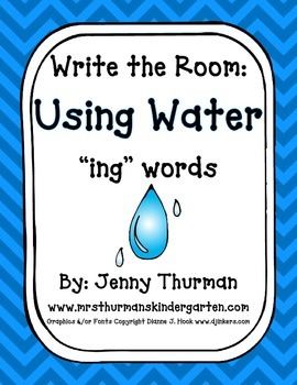 Write the Room: Water
