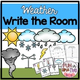 Write the Room ♥ Weather ♥ Cross Curricular ♥ Center