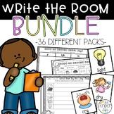 Write the Room Writing Center Yearlong Phonics Vocabulary BUNDLE 36 Packs