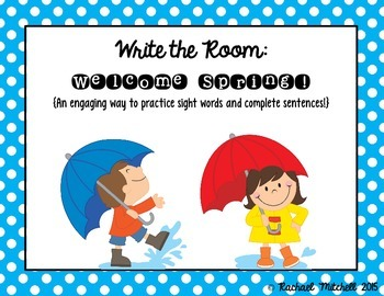 Write the Room: Welcome Spring!
