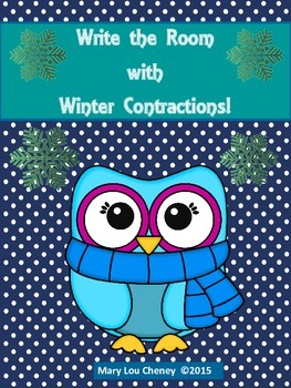 Write the Room Winter Contractions