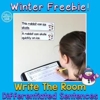 Write the Room Winter Freebie!!