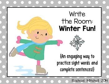 Write the Room: Winter Fun!