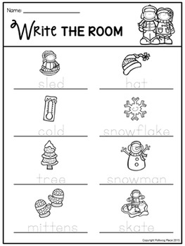 Write the Room - Winter Fun
