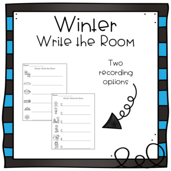 Write the Room - Winter Theme