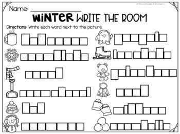 Write the Room- Winter Themed!
