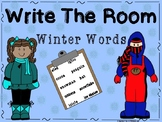 Write the Room Winter Words