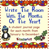 Write the Room With the Months of the Year