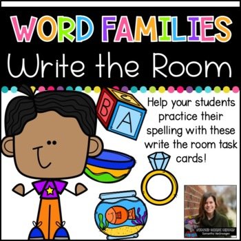 Write the Room (Word Families)