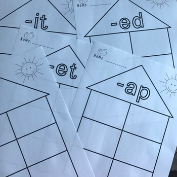 Write the Room With Word Families