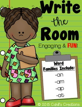 Write the Room - Word Family Set