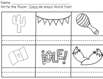 Write the Room Word Hunt: Spring Edition