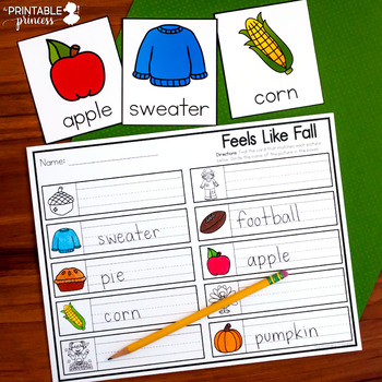 Write the Room Kindergarten Year Long BUNDLE | 42 Themes Included