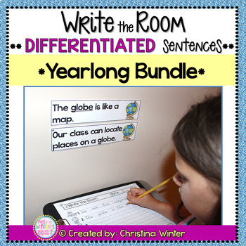 Write the Room - Back to School Fall Winter Spring BUNDLE