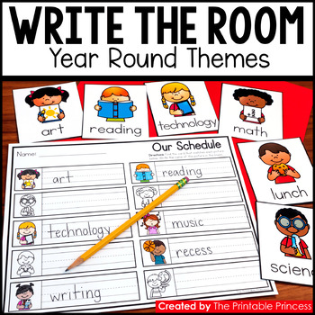 Write the Room Year Round Themes {22 Activities Included}