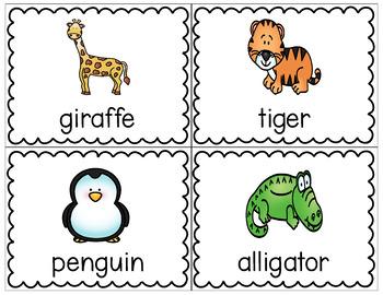 Write the Room - Zoo Animals