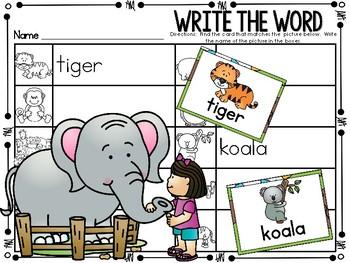 Write the Room - Zoo