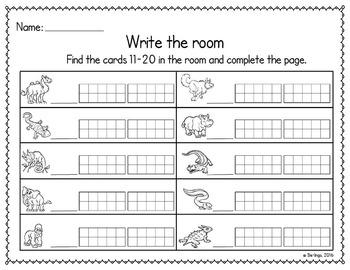 Write the Room - a math center