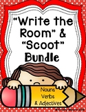 Write the Room and Scoot Bundle- Nouns, Verbs, and Adjectives