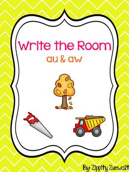 Write the Room - au & aw