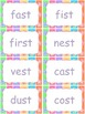 Write the Room - consonant digraph- words that end with -st