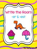 Write the Room - er & est