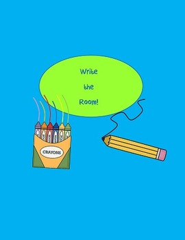 Back to School Write the Room first grade & Journeys have a go 8 words