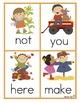 Kindergarten Write the Room BUNDLE for All Year: EDITABLE!