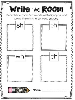 Write the Room {for Big Kids Grades 1-3}