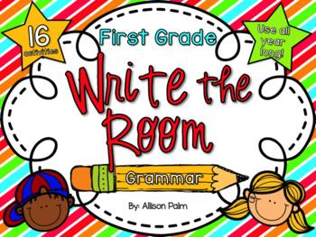 Write the Room for First Grade {Grammar Edition}