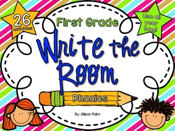 Write the Room for First Grade {Phonics Edition}